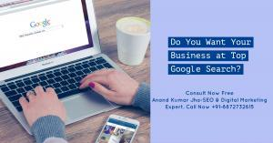 Anand Kumar Jha digital marketing expert in chandigarh