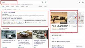 audi example search results by anand kjha