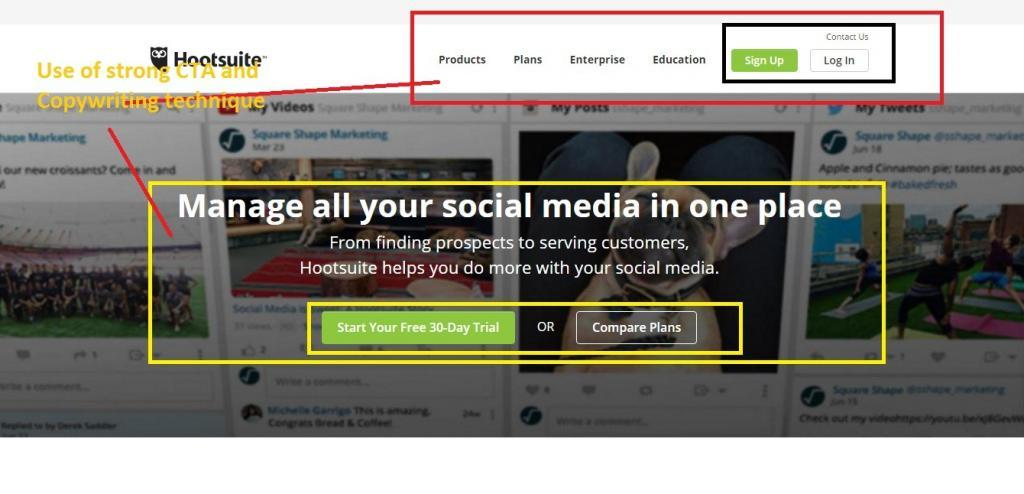 hootsuite lead generation 1