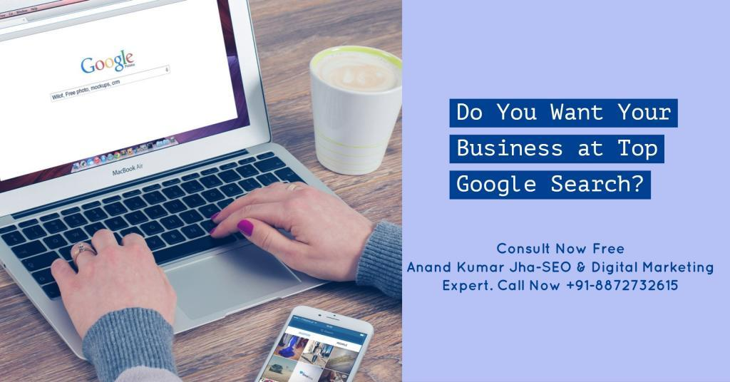 Anand Kumar Jha digital marketing expert in chandigarh