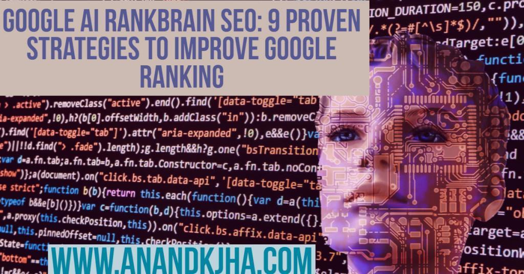 Google AI Rankbrain SEO