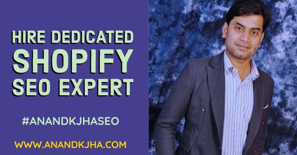 Hire Dedicated Shopify SEO Expert